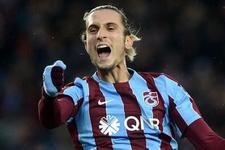 Trabzonspor tarihinde bir ilk! Yusuf Yazıcı...