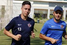 Antalyaspor G.Saray maçına hazırlanıyor