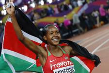 Kenyalı Kipyegon 1500 metrede ilk kez Dünya Şampiyonu
