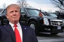 Dünya liderlerinin arabalarına bakın Trump'ınki fena