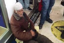 Belediye ıhlamur satmaya çalışan yaşlı adamdan özür diledi