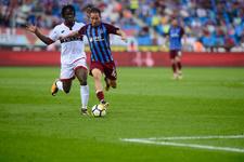 Trabzonspor-Gençlerbirliği maçından kareler