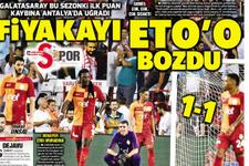 Günün spor gazete manşetleri! 11 Eylül 2017