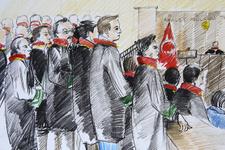 FETÖ'cü subaylar şehit yakının NATO iddiasına gülünce