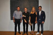 İtalyan sanatçı Cecchini'nin Türkiye'deki ilk sergisi açıldı