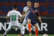 Başakşehir-Ludogorets maçından kareler