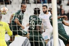 Atiker Konyaspor Olympique Marsilya maçı fotoğrafları