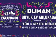 İstanbul Kültür Üniversitesi Benim Festivalim'e son 2 gün