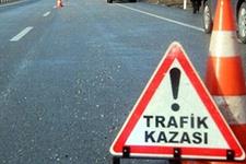 Elazığ'da traktör şarampole devrildi: 2 ölü, 4 yaralı