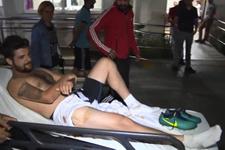 İstanbul'da amatör futbolcu yorgun mermi ile yaralandı