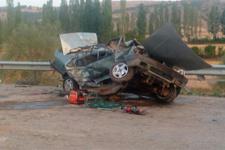 Çorum'da trafik kazası: 1 ölü, 3 yaralı