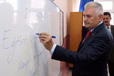 Başbakan'ın yeni eğitim yılını açacağı il belli oldu