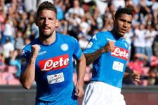Napoli'den yarım düzine gol