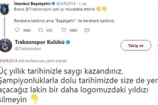 Başakşehir ile Trabzonspor Twitter'da kapıştı