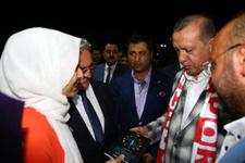Erdoğan'ı mest eden hediye