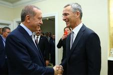 Cumhurbaşkanı Erdoğan, NATO Genel Sekreteri ile görüştü