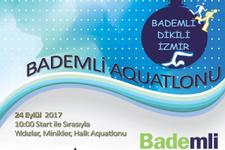 Bademli'de Aquatlon yarışları heyecanı
