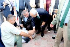 Kılıçdaroğlu'nun zor anları! Bir anda yere yığıldı