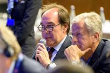 Yıldırım Demirören UEFA TEP toplantısına katıldı