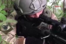 Özel ekipler Maçka'da terörist avında