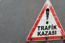 Uşak'ta otobüs kazası: 3 yaralı