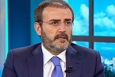 AK Parti Sözcüsü Ünal'dan 'Topbaş' açıklaması