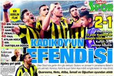 Sporda günün gazete manşetleri