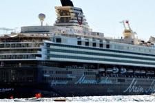 Lüks yolcu gemisi bu yıl ilk kez Bodrum'da