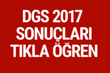 DGS 2017 sınav sonuçları osym.gov.tr sorgu ekranı