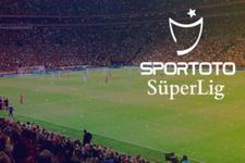 Süper Lig'de haftanın programı belli oldu