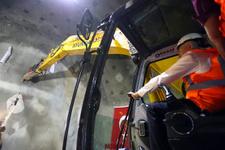 Binali Yıldırım Sabuncubeli Tüneli'ni açtı İzmir Manisa 15 dakika