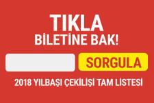 2018 yılbaşı bileti sorgulama Milli Piyango tam liste