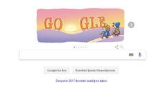 Yeni yılın ilk günü Google'ın yaptığı doodle bakın