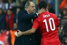 Fatih Terim'e Arda Turan transferi soruldu