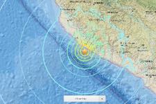 Son deprem Peru'da çok şiddetli
