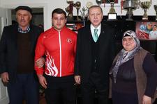 Cumhurbaşkanı Erdoğan şampiyonluk sözünü aldı