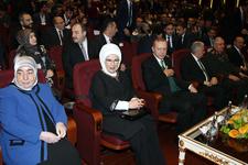 Erdoğan dizi tanıtımına katıldı: ilk bölümü böyle izledi!