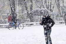 Düzce'de kuvvetli kar yağışı 5 günün hava tahmini