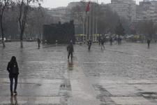 Gaziantep'te hava çok kötü meteorolojiden alarm geldi