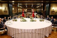 Erdoğan'dan yargı erkleriyle Beştepe zirvesi