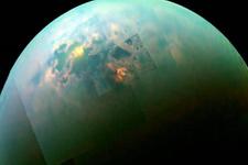 Satürn'ün uydusu Titan'da
