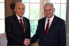 Başbakan Bahçeli'yle görüşecek