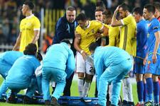 Fenerbahçe'ye şok haber! Giuliano'nun omzu çıktı