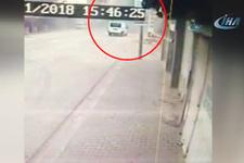 Reyhanlı'da 1 kişinin öldüğü roket saldırısı kamerada