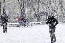 Bolu kar başladı son hava raporu