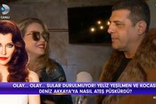 Yeliz Yeşilmen'in eşi Ali Uğur Akbaş, Deniz Akkaya'ya ateş püskürdü