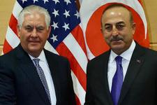 Dışişleri Bakanı Çavuşoğlu, Tillerson ile görüştü