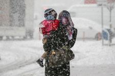 Yoğun kar İstanbul'a dayandı son hava durumu raporu