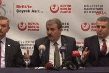 BBP liderinden flaş ittifak açıklaması: Birinci turda biter...