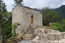 Sümela Manastırı'nın 'Aya Varvara'sı yoğun ilgi görüyor